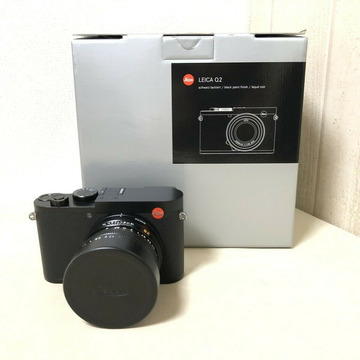 LEICA Q2 schwarz 47,3 MP mit Originalverpackung