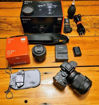 Sony Alpha A7 III 24,2 MP, mit FE 28-70 mm, FE 50 mm Emount